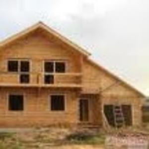 Строительство домов  и срубов,  продажа досок и бруса