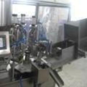 Автомат для фасовки и запайки туб (тюбиков)