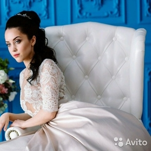 Вечернее и свадебное платье Сибилла