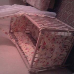 Продам кроватку детскую(дерево) состояние отличное.