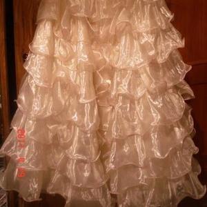 Продам нарядное платье для девочки рост 140-150