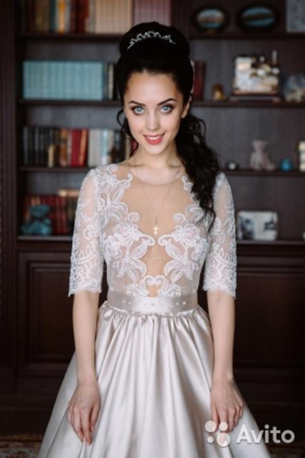 Вечернее и свадебное платье Сибилла  3
