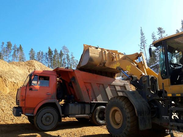 Щебень отсев песок пгс вывоз строительного мусора 2