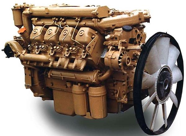 Новый двигатель Камаз 740.30 740.31